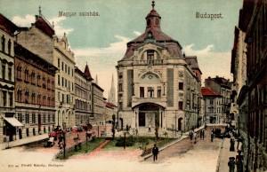 Magyar Színház eredeti épület